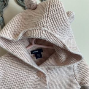 Baby Gap pink button up sweater  🐻